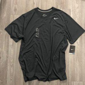 NIKE Men's Short Sleeve NWT Shirt Black XL